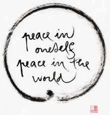 peace in ones self peace in the world