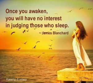 no interest in judging others
